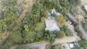 Birds eye view of Kingfisher Guesthouse