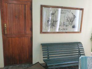 Entrance to honeymoon suite